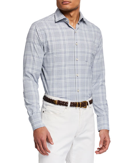 Peter Millar Men's Angus Glen Check Sport Shirt