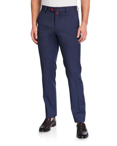 Men's Heathered Straight-Leg Pants