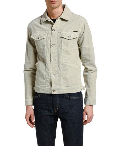 Men's Stretch-Corduroy Icon Jacket