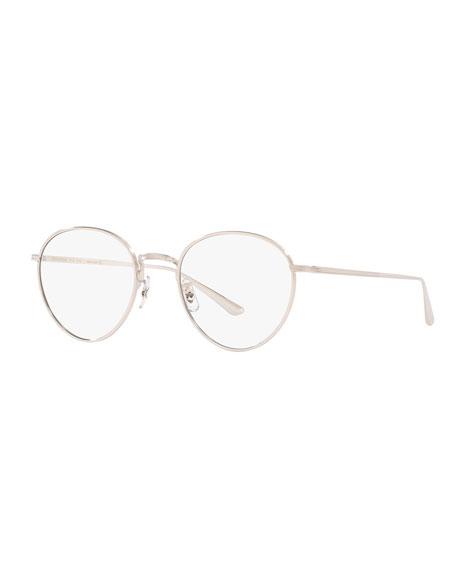 Oliver Peoples Men's Brownstone-2 Vintage Titanium Optical Frames