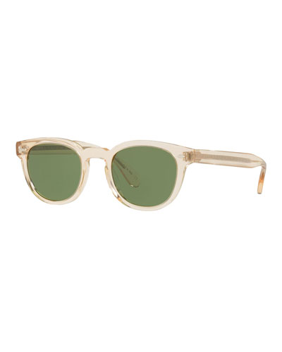Men's Sheldrake Round Sunglasses