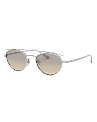 Men's Hightree Titanium Oval Sunglasses