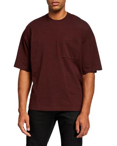 Men's Baldi Pocket Oversized T-Shirt