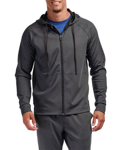Men's Spar Tactel Zip-Front Hoodie