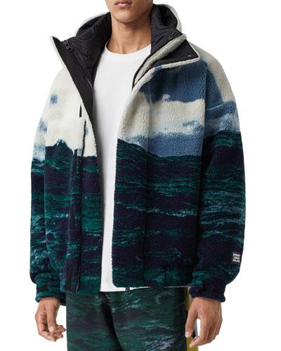 Men's Somerby Landscape Fleece Coat