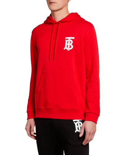 Men's Landon TB Logo Hoodie Sweatshirt