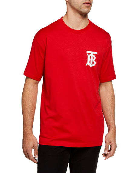 Burberry Men's Emerson TB Logo T-Shirt