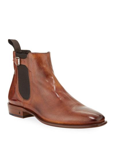 Men's Lewis Leather Chelsea Boots