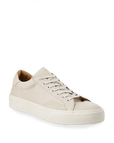 Men's 315 Mac Leather/Suede Tonal Sneakers