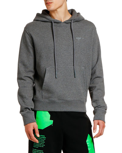 Men's Arrow Logo Slim Hoodie