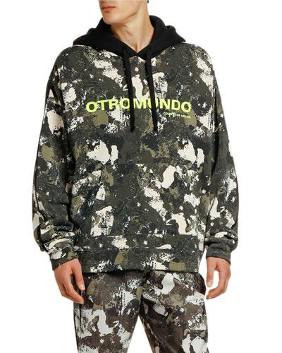 Men's Ortomundo Camo Pullover Hoodie