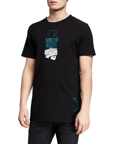 Men's Dripping Arrows Slim T-Shirt