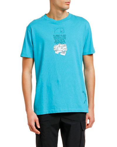 Men's Dripping Arrows Graphic T-Shirt