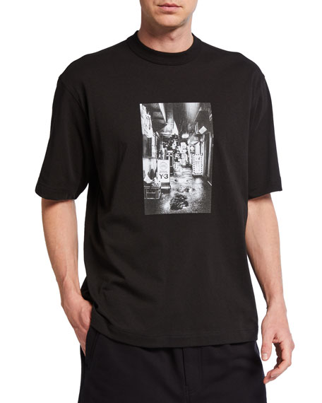 Y-3 Men's Alleway Graphic Short-Sleeve T-Shirt