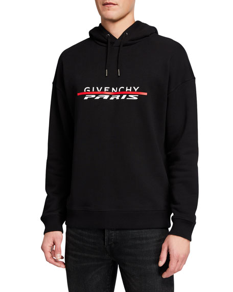 Givenchy Men's Logo Pullover Hoodie
