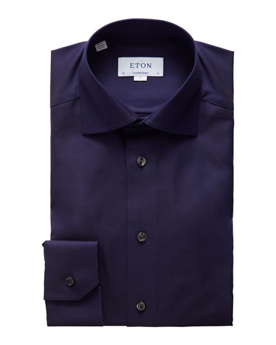 Men's Contemporary Royal Oxford Dress Shirt