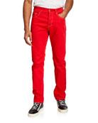 Versace Jeans Couture Men's Slim-Fit Pop Icon Jeans