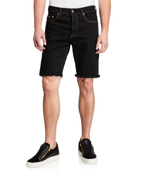 Versace Jeans Couture Men's Icon Denim Slim-Fit Shorts
