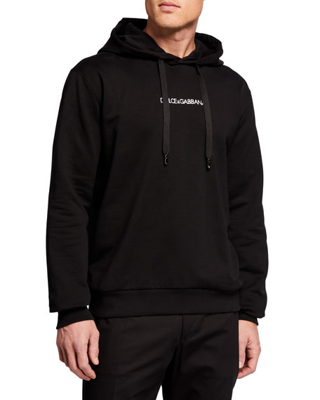 Dolce & Gabbana Men's Core Logo Pullover Hoodie