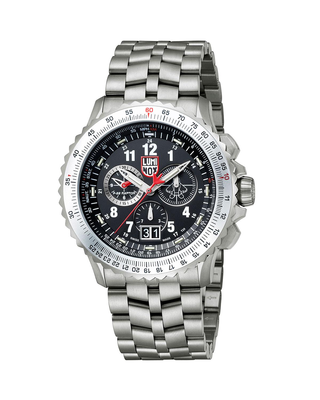 Men's 44mm F-22 Raptor 9200 Series Titanium Watch