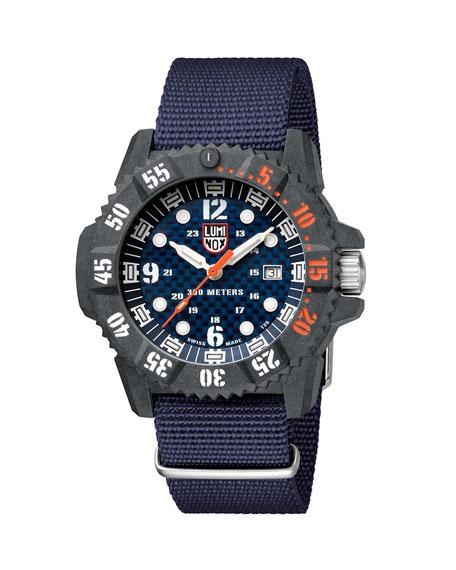 Luminox Men's 46mm Master Carbon SEAL Web-Strap Watch
