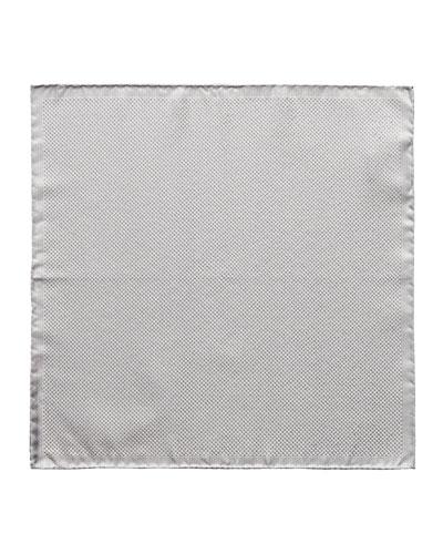 Men's Formal Metallic Silk Pocket Square