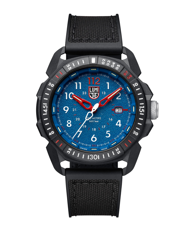 Men's 44mm ICE-SAR Arctic 1000 Carbonox Watch