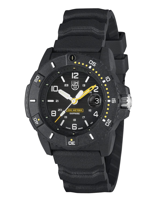 Men's 45mm Navy SEAL 3600 Carbonox Watch