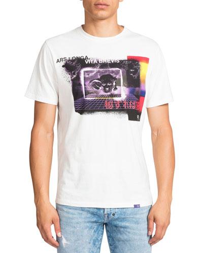 Men's Vita Brevis Graphic Crewneck T-Shirt