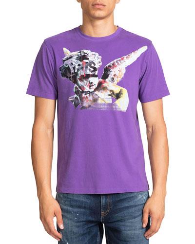 Men's Marked Cherub Graphic T-Shirt