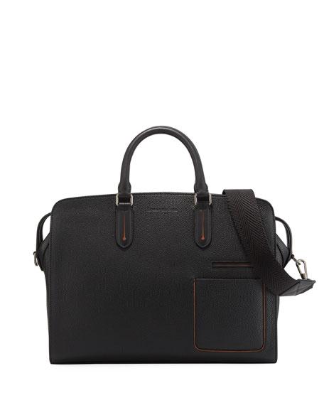 Ermenegildo Zegna Men's Large Leather Blazer Briefcase