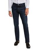Brioni Men's Slim Stretch-Denim Jeans