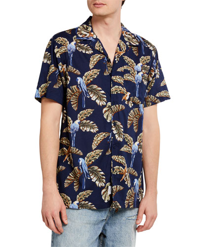 Men's Vacation Short-Sleeve Shirt