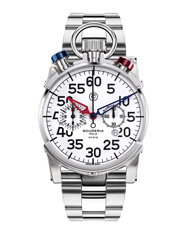 Men's 44mm Corsa Chronograph Bracelet Watch