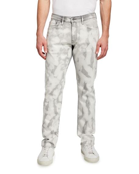 Ovadia Men's 002 Slim-Fit Bleached Jeans