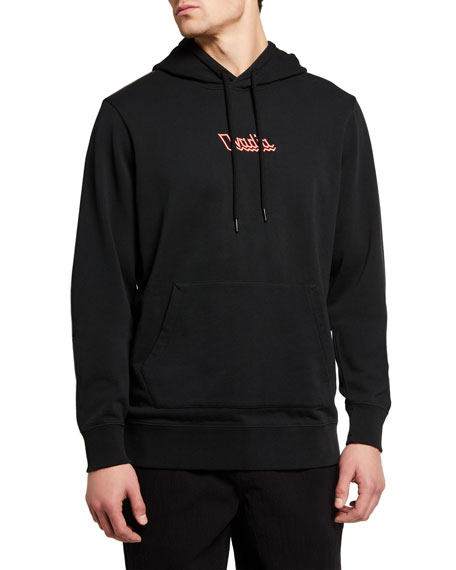 Ovadia Men's Electric Logo Typographic Hoodie