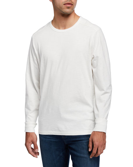 Ovadia Men's Magen Long-Sleeve Crewneck T-Shirt