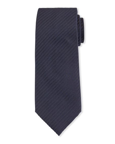Giorgio Armani Men's Tonal Stripe Silk Jacquard Tie