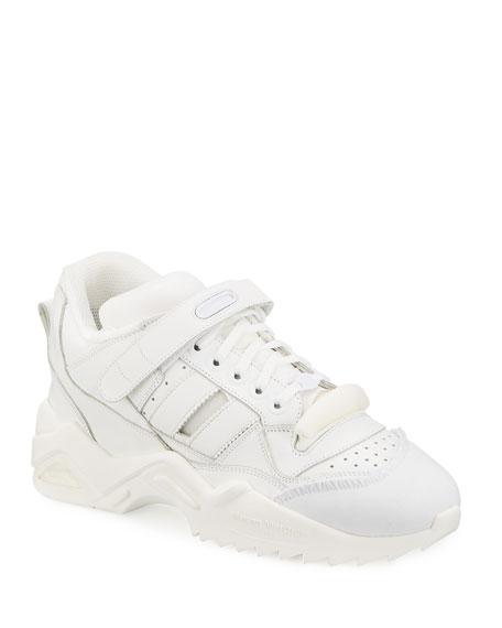 Maison Margiela Men's Retro Midi Tonal Trainer Sneakers
