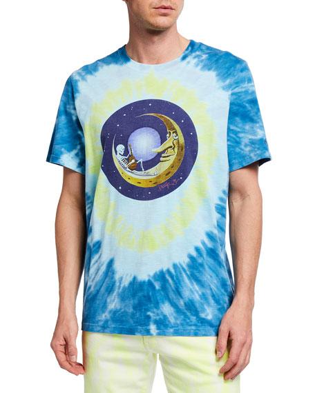 Ovadia Men's Mouse Moon Graphic Print T-Shirt