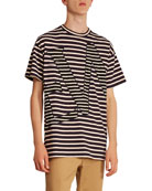 Loewe Men's Striped T-Shirt