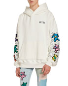 Amiri Men's Grateful Dead Bear Graphic Hoodie