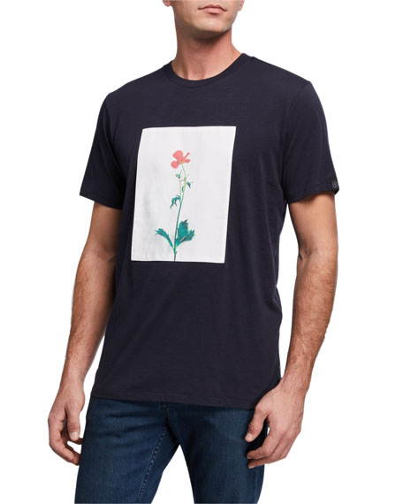 Rag & Bone Men's Flower Graphic T-Shirt