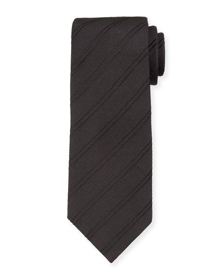 TOM FORD Men's Tonal Stripe Silk-Blend Tie
