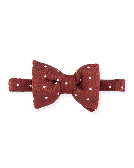 TOM FORD Men's Polka Dot Silk Bow Tie