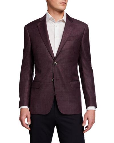 Men's G Line Super 130s Virgin Wool Sport Jacket
