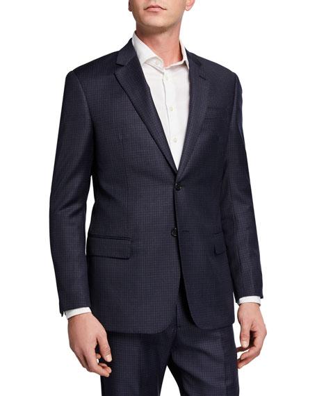 Emporio Armani Men's G Line Plaid Two-Piece Suit
