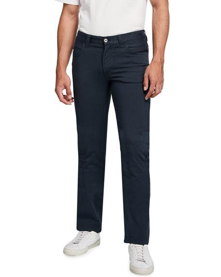 Emporio Armani Men's 5-Pocket Straight Stretch Pants