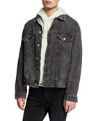 Ksubi Men's Oh G Denim Trucker Jacket