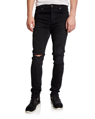 Men's Chitch Krow Krushed Distressed Jeans